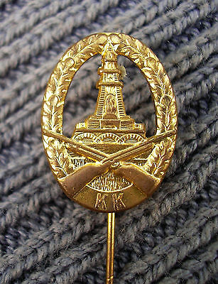 GERMAN BADGE pin kk hannover