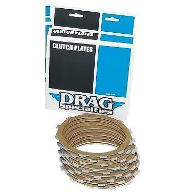 Drag Kevlar Friction Clutch Plate Kit Harley Ultra Classic 2007 1999 2002-2006