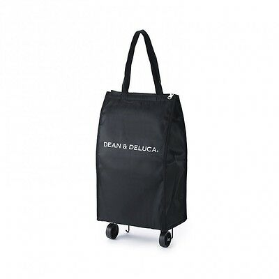 DEAN & DELUCA Shopping Cart Bag Black from Japan New!