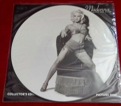 Madonna deeper and deeper picture disc vinyl