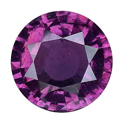 1.085 Cts Formidable Top Lsuter Purple Pink Natural Sapphire Round Gemstones