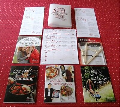 Slimming World Starter Pack + 2017 11 Everyday Menus + Motivation Book