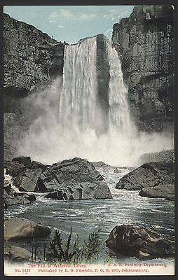 South Africa. The Fall at Waterval Boven by R. O. Fusslein, Johannesburg