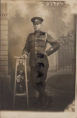 WW1 Soldier Sgt Coldstream Guards 3x wounded on leave in Paris