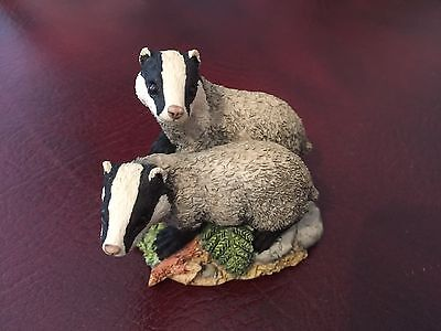 Border Fine Arts - Forest Friend Badgers