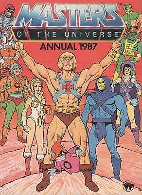 He-Man And The Masters Of The Universe 1987 Annual