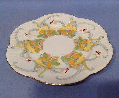 Wileman Early Shelley Tea Plate Dainty Pt No 7443