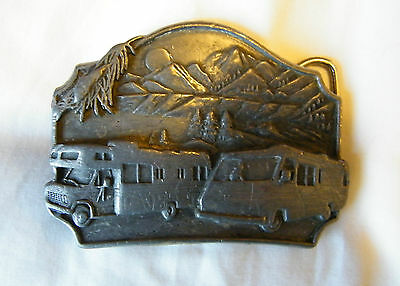 1987 - Motor Home  / Belt Buckle.