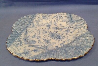 Wileman Early Shelley Tea Plate Dolly Varden Pt No 3750