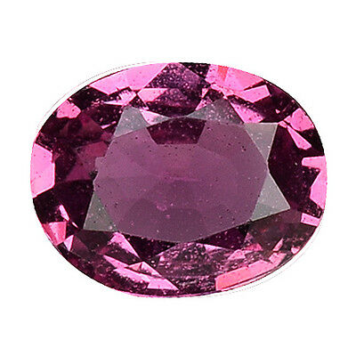 0.765 Cts  Spectacular Stunning Luster Purple Pink Natural Sapphire Oval