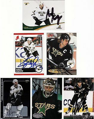 Sergei Zubov, Dallas Stars, Rare Auto'd/signed Nhl Card.