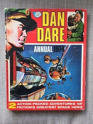 Dan Dare Annual 1974 - A Fleetway Annual - Action-Packed Adventures...