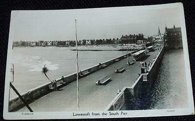 Real photo postcard Lowestoft from the South Pier