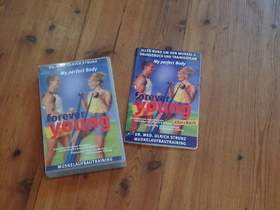 Dr.  Ulrich Strunz: forever young - my perfect body (VHS + Buch) Muskelaufbau