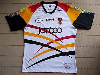 BRADFORD BULLS RUGBY LEAGUE shirt...mint condition...XLG