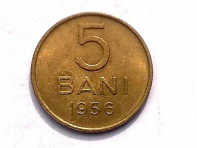 Romania 5 bani 1956 coin