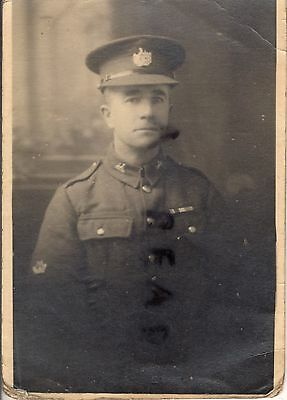 WW2 soldier 5th Glosters Gloucestershire Regiment WW1 Veteran discharged 1940