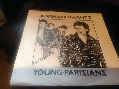 adam and ants young parisians 7 inch single