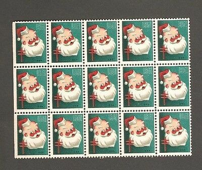 1951 - Lot Of (15) United States Easter Seal Stamps Mnh.