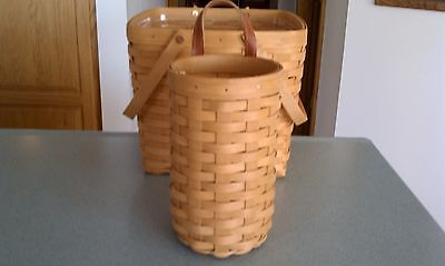 Longaberger Bag-It basket in Warm Brown stain  NEW Ready to ship!