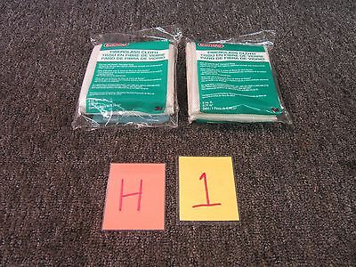 2 Pk 3M Bondo 499 Fiberglass Cloth Resin Automotive 8 Sq. Ft 2 X 4 New