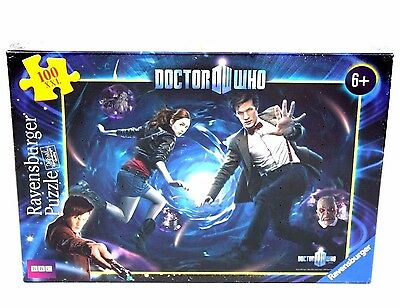 DR WHO 11th DOCTOR 100 PC JIGSAW BY RAVENSBURGER - DOCTOR AND AMY - NEW & SEALED