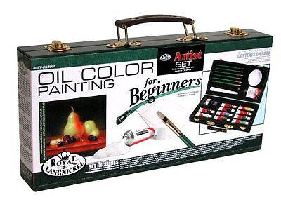 Art Set For Kids Paint Teen Oil Painting Beginners Supplies Kit W/ Storage Box