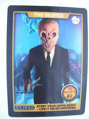 Dr Who Monster Invasion Extreme Infinite Card The Silence 345 Very Rare Mint