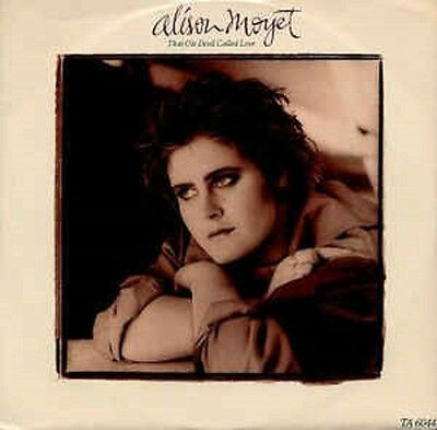 "Alison Moyet ‎– That Ole Devil Called Love Vinyl 12"" Single 1985 EX/EX"