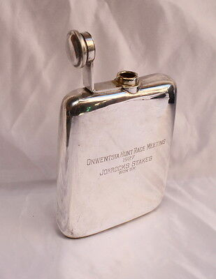 "Magnificent Art Deco Sterling Silver Decanter ""13 Oz."""