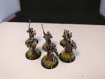 *Well Painted* Warmachine Menoth Knights Exemplar Unit