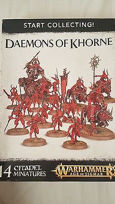 Start Collecting Daemons of Khorne - no bases included