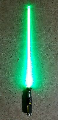 Star Wars Yoda Force FX Lightsaber By Hasbro Converted to Removable Blade