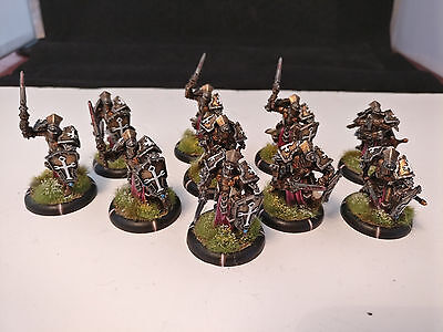 *Well Painted* Warmachine Menoth Exemplar Knights Errant Unit