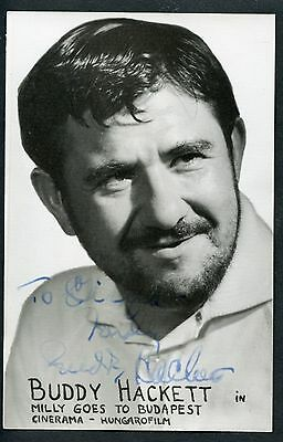 Buddy Hackett, US-Schauspieler, Milly goes to Budapest,Cinerama-Hungarofilm