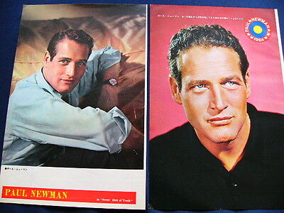 1960s Paul Newman Japan VINTAGE 63 Clippings THE HUSTLER