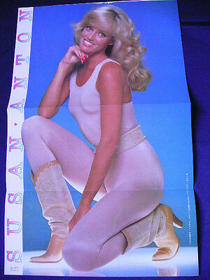 1980s Susan Anton in Japan VINTAGE 25 Clippings & Poster CANNONBALL RUN II