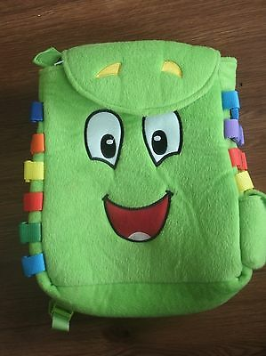 """BUCKLE TOY Toys """"Buddy"""" Backpack Toddler Early Learning Basic Life Skills"""