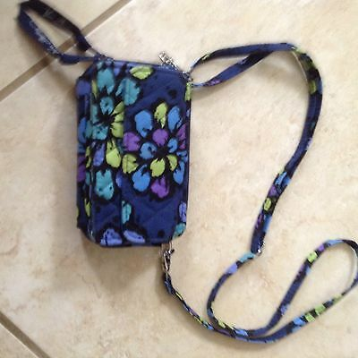 Vera Bradley Indigo Pop  smartphone shoulder bag