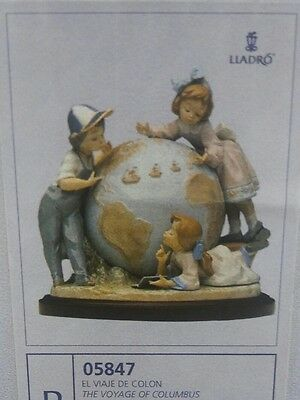 LLADRO The Voyage of Columbus B 05847 BRAND NEW IN BOX Large Limited Porcelain