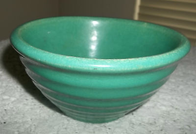 Vintage Green Ringware Bauer Bowl Number 36 Very Nice