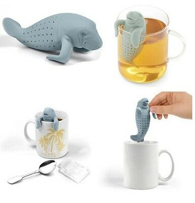 Tea Strainer Infuser Loose Leaves Green Herbal Healthy Weight Loss Silicone Mana