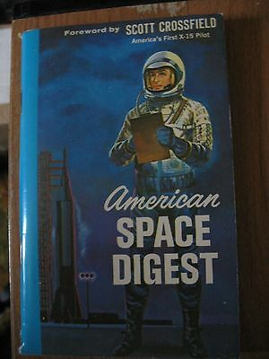 1963 American Space Digest Scott Crossfield Schick Safety Razor Paperback