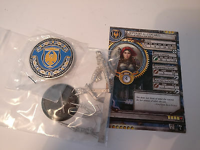 *Limited Edition* Warmachine Cygnar Allison Jakes Journeyman Warcaster