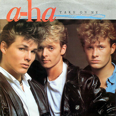 """A-HA Take On Me (Extended Version) UK 12"""" 1985 VG+/EX"""