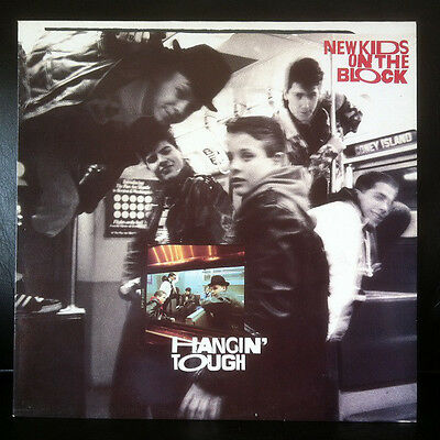 Hangin' Tough LP - (New Kids On The Block NKOTB) UK 460874-1 EX/VG