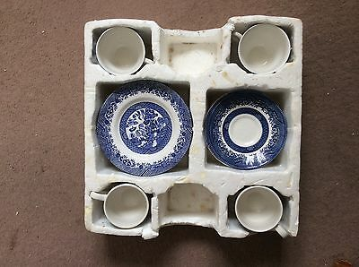 Churchill China Willow Pattern Tea Cup And Saucer,mug Set With Plates
