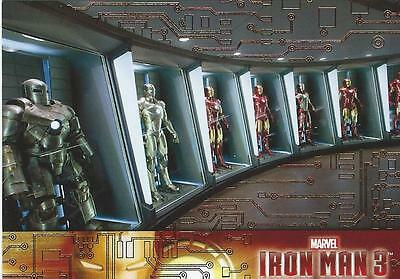 Gold Parallel 2013 Iron Man 3 Card Set (Missing 34, 40 & 58)