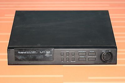 Vintage Roland MT-32  Multi Timbre Sound Module Working Condition