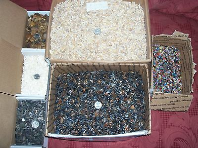 200 items per lot. large ammonites fossil shark teeth gemstones white teeth
